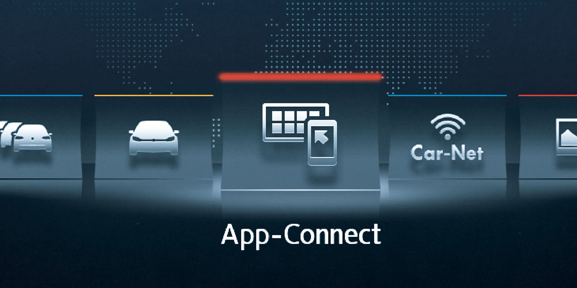 vw volkswagen app connect