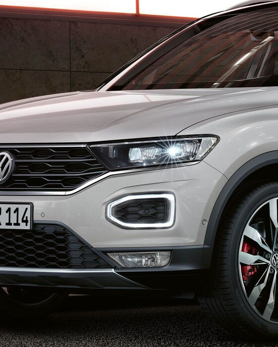 vw volkswagen t-roc light design